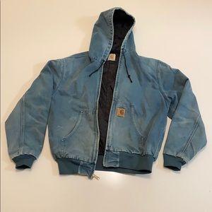 Blue Carhartt jacket